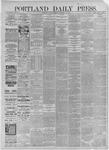 Portland Daily Press: November 30,1885
