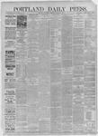 Portland Daily Press: December 02,1885