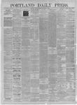 Portland Daily Press: December 07,1885
