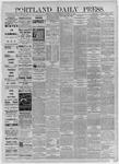 Portland Daily Press: December 08,1885