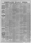 Portland Daily Press: December 09,1885