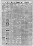 Portland Daily Press: December 10,1885