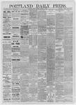Portland Daily Press: December 11,1885