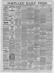 Portland Daily Press: December 12,1885