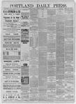 Portland Daily Press: December 14,1885