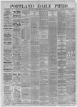 Portland Daily Press:  December 16,1885