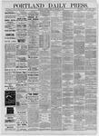Portland Daily Press: December 17,1885