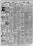 Portland Daily Press: December 18,1885