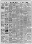 Portland Daily Press: December 19,1885