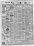 Portland Daily Press: December 23,1885