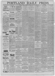 Portland Daily Press: December 24,1885