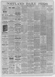 Portland Daily Press: December 25,1885