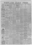 Portland Daily Press:  December 28,1885