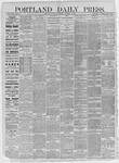 Portland Daily Press: December 30,1885
