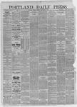 Portland Daily Press: December 31,1885