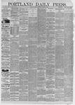 Portland Daily Press: January 01,1885