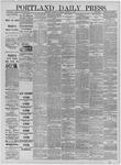 Portland Daily Press: January 02,1885