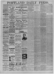Portland Daily Press: January 03,1885