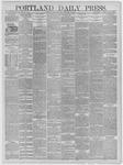 Portland Daily Press: January 05,1885