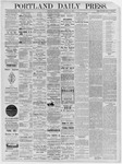 Portland Daily Press: January 07,1885