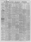 Portland Daily Press: January 08,1885