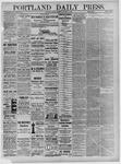 Portland Daily Press: January 09,1885