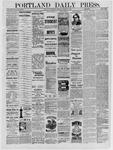 Portland Daily Press: January 12,1885