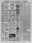 Portland Daily Press: January 13,1885