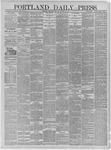 Portland Daily Press: January 14,1885