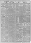 Portland Daily Press: January 16,1885