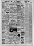 Portland Daily Press: January 17,1885