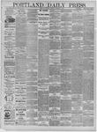 Portland Daily Press: January 20,1885
