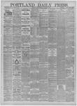 Portland Daily Press: January 21,1885