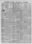 Portland Daily Press: January 26,1885