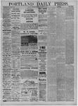 Portland Daily Press: January 28,1885