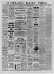 Portland Daily Press: January 29,1885