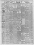 Portland Daily Press: January 30,1885