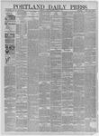Portland Daily Press: January 31,1885