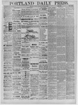 Portland Daily Press: February 02,1885