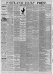 Portland Daily Press: February 03,1885