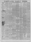 Portland Daily Press: February 04,1885