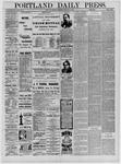 Portland Daily Press: February 05,1885