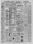 Portland Daily Press: February 09,1885