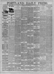 Portland Daily Press: February 10,1885