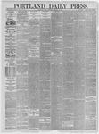 Portland Daily Press: February 11,1885