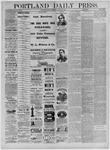 Portland Daily Press: February 12,1885