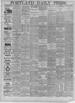 Portland Daily Press: February 13,1885
