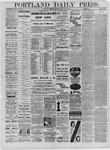 Portland Daily Press: February 14,1885