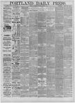 Portland Daily Press: February 17,1885