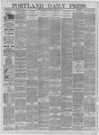 Portland Daily Press: February 18,1885